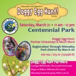 Winnetka's Doggy Easter Egg Hunt!