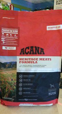New Acana Heritage